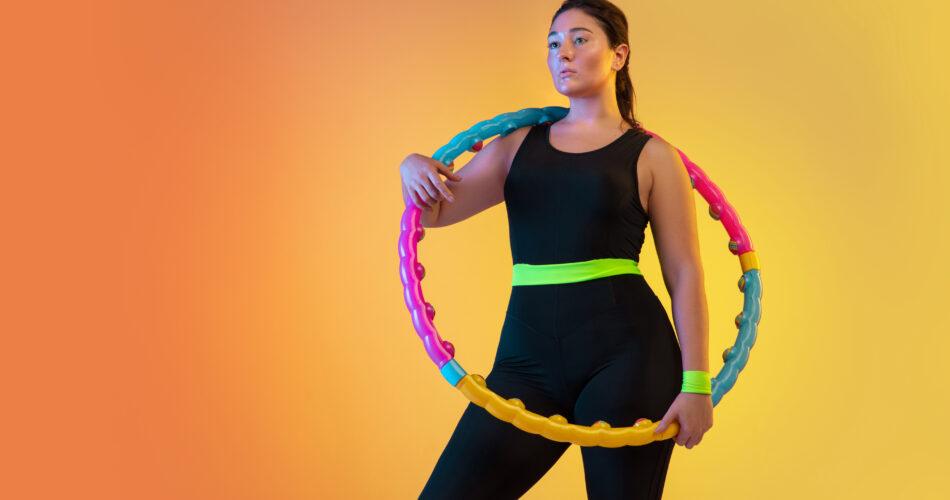 Hula Hoop: Beckenboden trainieren und mit Spaß abnehmen